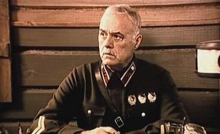 Станислав Говорухин в роли комдива