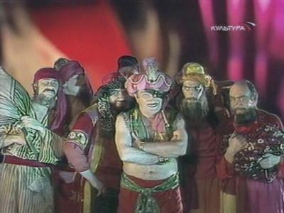 Али-Баба и 40 разбойников - Джигарханян и разбойники