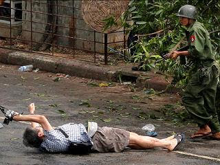Бирма кровавые события