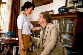 Аун Сан Су Чжи с мужем (