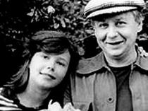 Олег Табаков с дочерью
