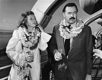 Марта Геллхорн и Эрнест Хемингуэй (1941 год)