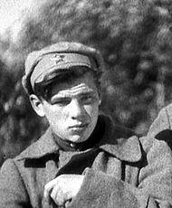 Георгий Жжёнов в 1934 году