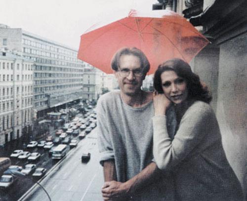 Елена Майорова с мужем Сергеем Шерстюком