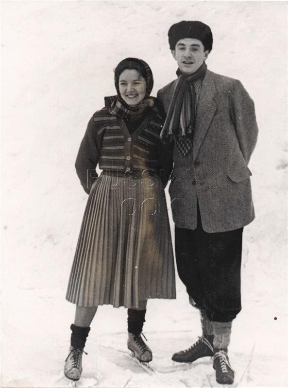 С супругой Ниной Тихоновной Лапшиновой